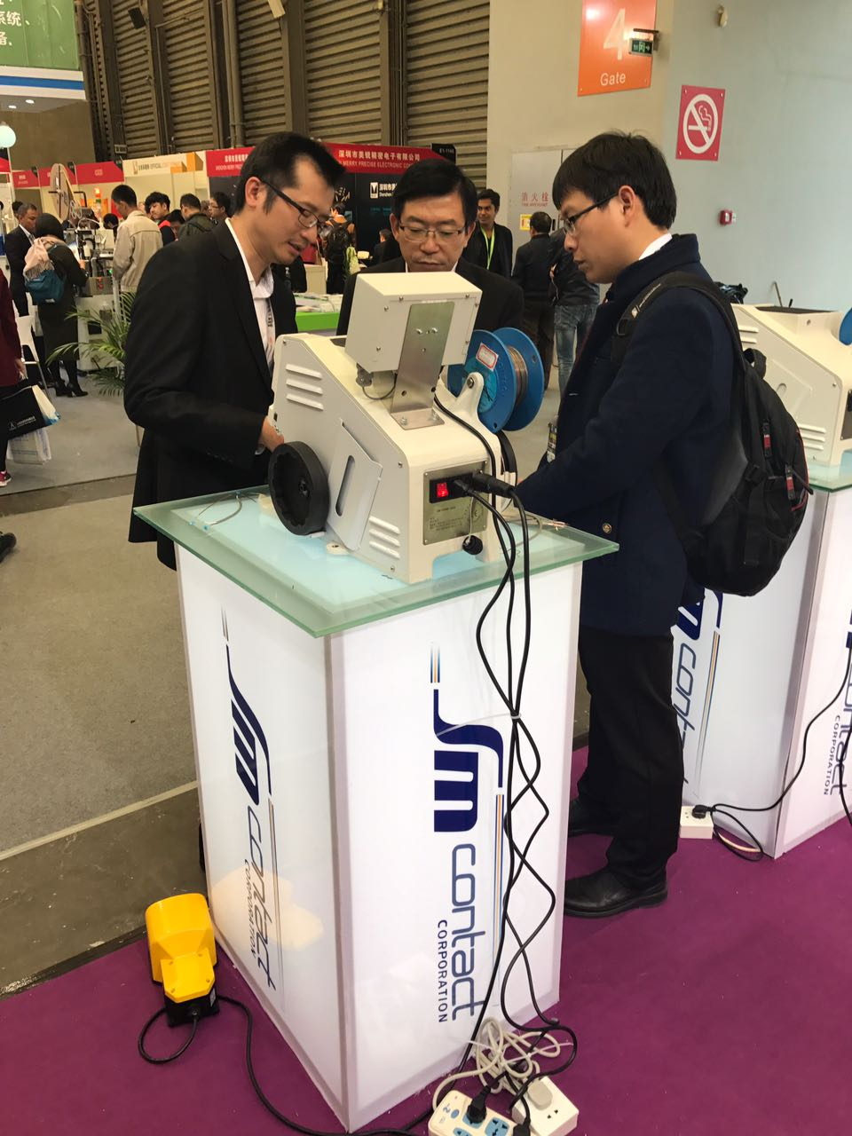 Visitors od productronica China interested in SM Crimp