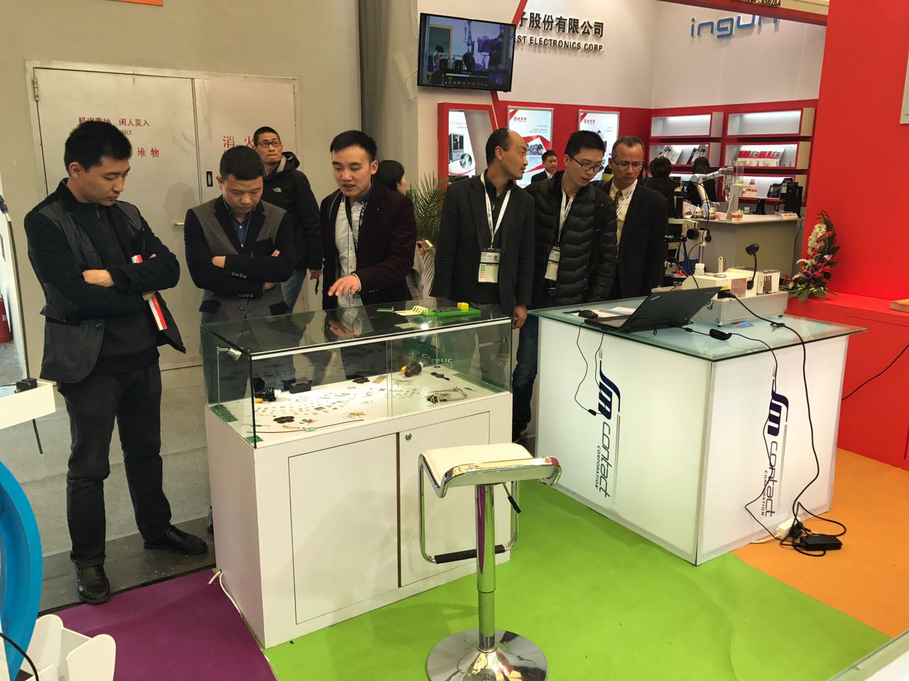 Visitors of productronica China interested in SM Crimp
